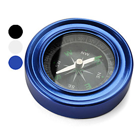 Pocket Compass Hiking Survival Tool (Assorted Colors)