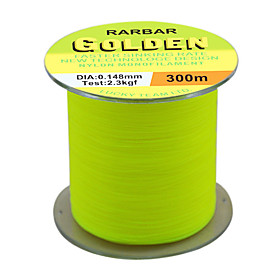 Golden Yellow-Monofilament Fishing Line 300m