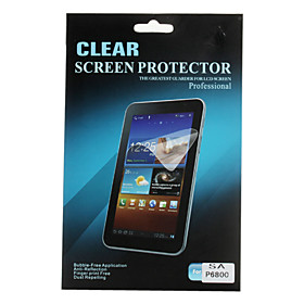 Clear Screen Protector for Samsung Galaxy Tab P6800