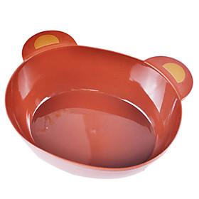 Cartoon Design Large Size Food Bowl (Random Color)
