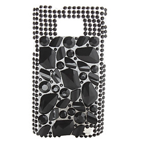 Blocks Crystal Case for i9100 (Black)