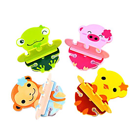 Cartoon Animal Toothbrush Holder (Assorted Colors)
