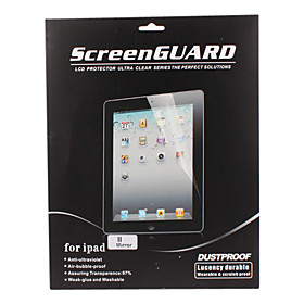 Dustproof Screen Guard with Cleaning Cloth for iPad (Mirror)