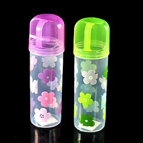 Floral Toothbrush Bottle
