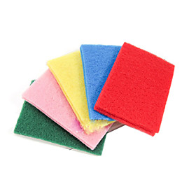 Kitchen Cleaning Colorful Dishware Washing Cloth (10-Pack)