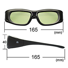 Rechargeable Bluetooth Sync 3D Glasses for 3D LCD TV