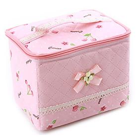 Cherry Pattern High Class Storage Bag (Pink)