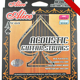 Alice - (AW468-SL) Steel Acoustic Guitar Strings (011-052)