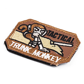 Street Culture TRUCK MONKEY Pattern Velcro