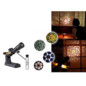 Mini Night Light Shapes Projector (Black)