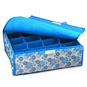 16-Compartment Soft Lid Storage Box