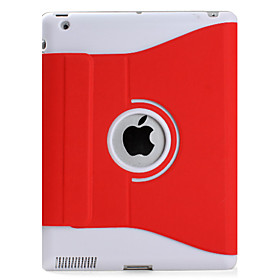 360 Degree Rotatable Auto Sleep Case Cover with Stand for Apple The New iPad