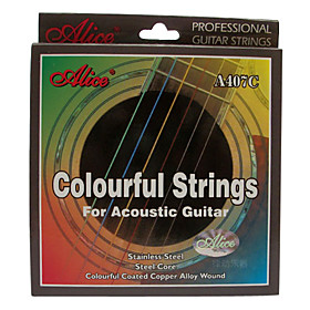 Alice - (A407C) Steel Acoustic Guitar Strings (011-052)