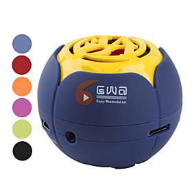 GWA Portable Sphere Speaker (Assorted Colors)