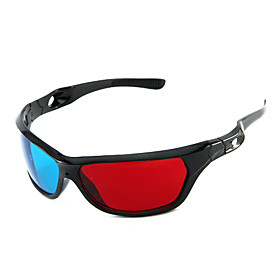 Red and Blue Style 3D Stereo Glasses