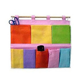 8-Compartment Colorful Hanging Bag