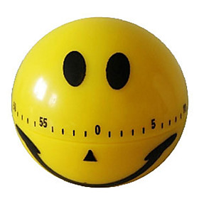 Smiling Face Design 60-Minute Kitchen Cooking Mechanical Timer