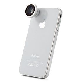 180 Degree Fish Eye Lens for for iPhone, iPad  Other Cellphone (Blue Film)