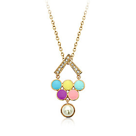 Fashion Happy Balloon Pendant Necklace