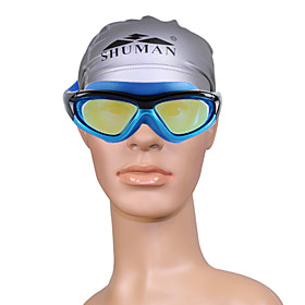 Unisex SM210 Anti-Fog Plating Swimming Goggles