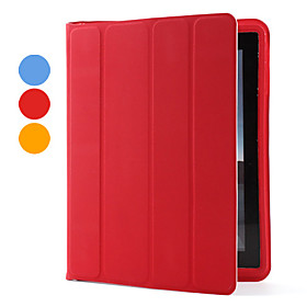 Protective Super Slim 4 Folded Auto Sleep Case Cover for Apple The New iPad