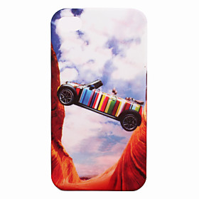 Protective Dull Polished Super Slim Car Patterned iPhone Case Cover (Pattern 16)
