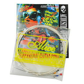 Alice - (A306-SL) Steel Acoustic Guitar Strings (011-052)