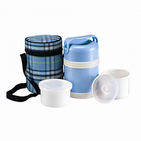 Insulated Lunch Boxes (Assorted Colors)