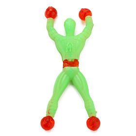 Mini Size Plastic Flexible Spider Man (Assorted Colors)