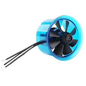 EDF Plus 8 Blades HL4008 2422-8600KV Brushless Motor with Fan for RC Helicopter