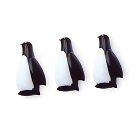 Mini Penguin Shaped Fridge Magnets (3-Pack)