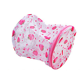 Strawberry Pattern Underwear Protection Washing Bag