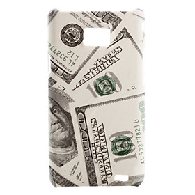 US Dollar Style Case for Samsung i9100 (Beige)