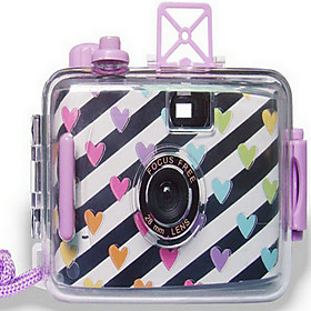 Loving Hearts Reloadable Underwater Film Wedding Camera