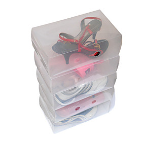 Middle-Size Transparent Shoe Case