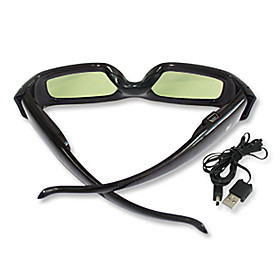 Rechargeable 3D Glasses for 3D TV (IR Sync Only)