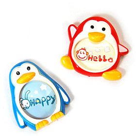 Cute Penguin Design Fridge Magnet Mini Photo Frame (2-Pack)