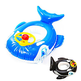 Whale Shaped Inflatable Baby Swim Ring
