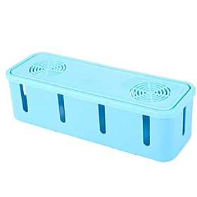 Fashion Cable Storage Box with Fan