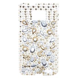 Cobblestone Crystal Case for i9100 (White)