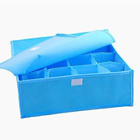16-Compartment Soft Cover Storage Box