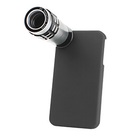 9x Telephoto Thread Lens with Back Case and Tripod for iPhone 4 and 4S