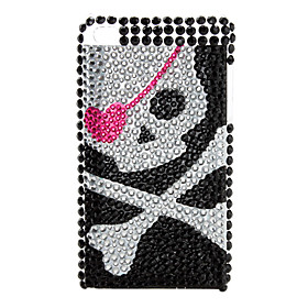 Skeleton Style Diamond Case for iTouch 4