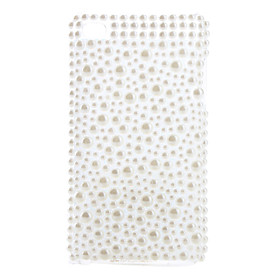 White Pearl Style Case for iTouch 4