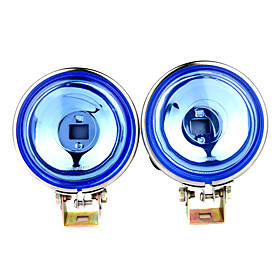 55W High Power H3 Halogen Car Fog Lights (Yellow Light)
