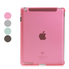 Protective Dull Polished Case Compatible with Original Smart Cover for Apple The New iPad
