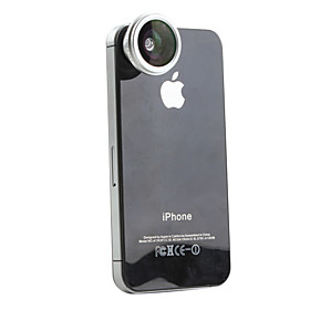 Detachable 0.28x Fish Eye Magnet Lens for iPhone, iPad  Other Cellphone