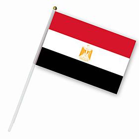 Nylon Egypt Flag (30 x 14 cm)