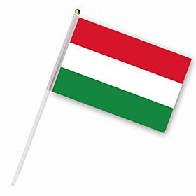 Nylon Hungary Flag (30 x 14 cm)