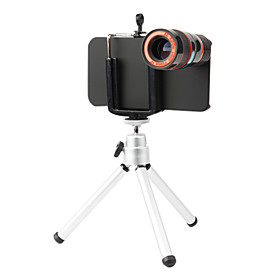 8X Zoom Optical Telescope Lens with Tripod for iPhone 4/4S